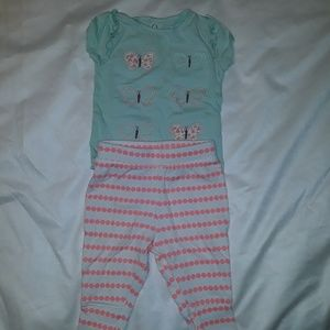 0-3 month Child of mine outfit